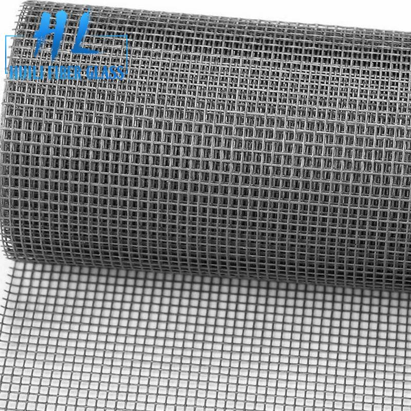 Fiberglass insect fly mosquito net door mesh screen grey and black colors