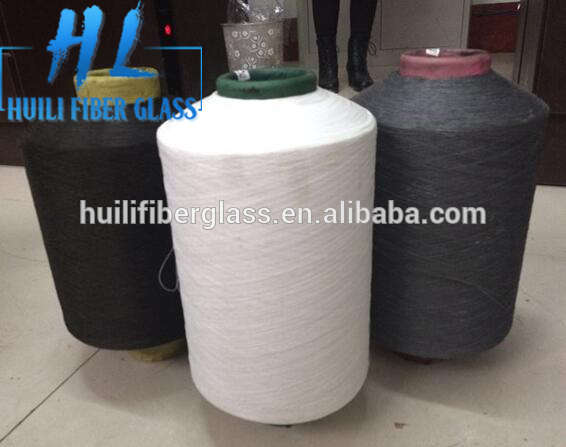 0.25mm/0.28mm Wire diameter 90tex PVC coated Fiberglass Yarn Featured Image
