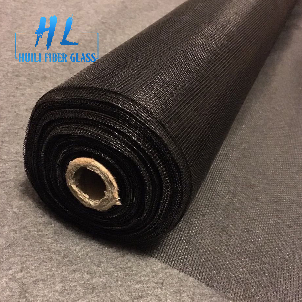 black color fiberglass mosquito fly proof wire mesh