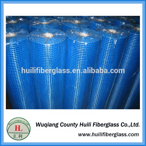 blue color 4×4/5×5 Plaster fiberglass mesh net with good latex from Chinese