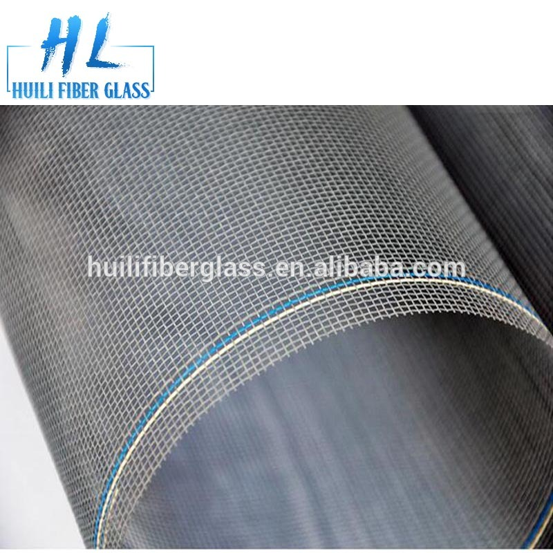 cheap and durable gray anti mosquito netting / phifer mosquito net/ fiberglass fly screen factory exporter