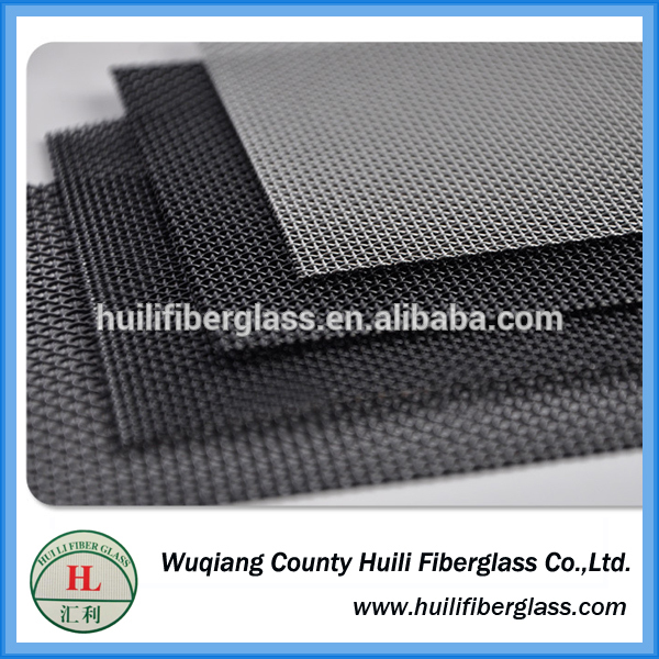 China supplier high strength white stainless steel security PVC window/door screen/Stainless steel window screen