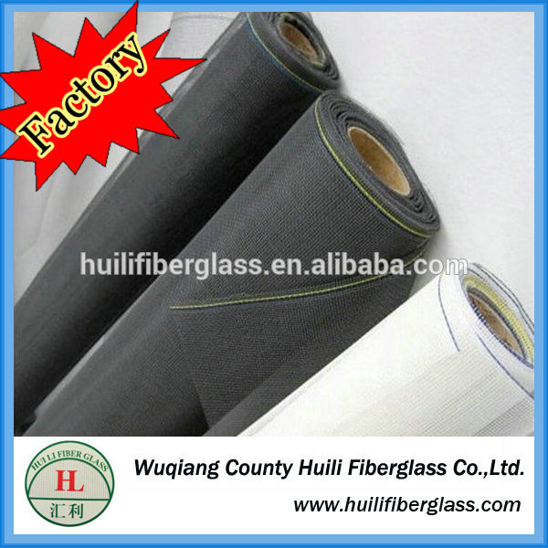 Fiberglass Mosquito screen fly roll up screen for doors and windows made in china