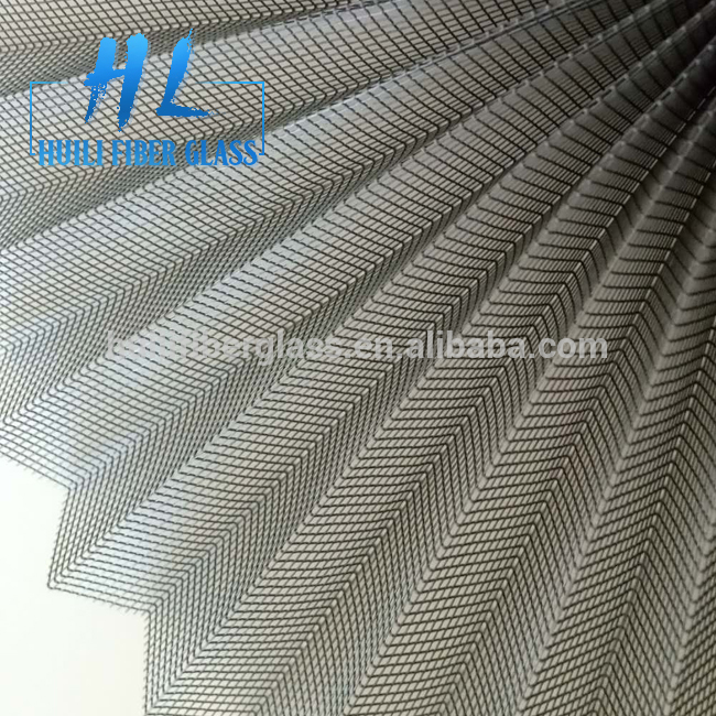 High Quality pleated insect screen / polyester insect nets mosquitos mesh screening
