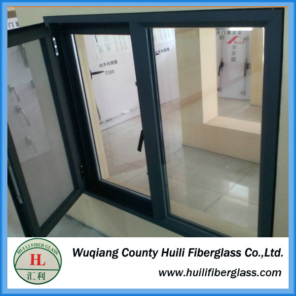 Huili 120g m2 width fiberglass polyester insect screen with zipper made in china
