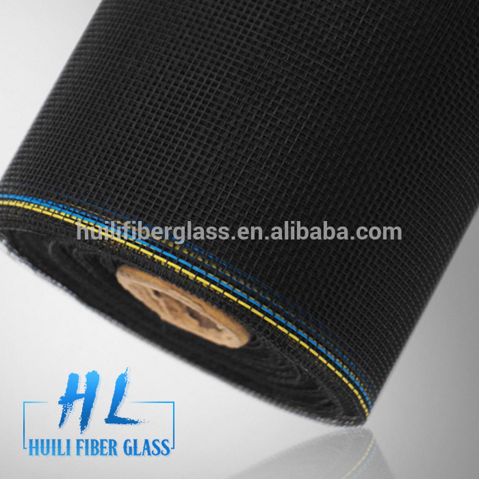 Huili 120g m2 width fiberglass/pp insect screen with color edge made in china