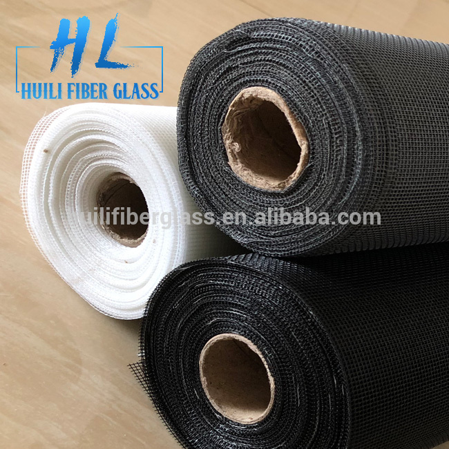 Huili 18*16 110g brown color fiberglass insect screen/fiber wire mesh to pakistan