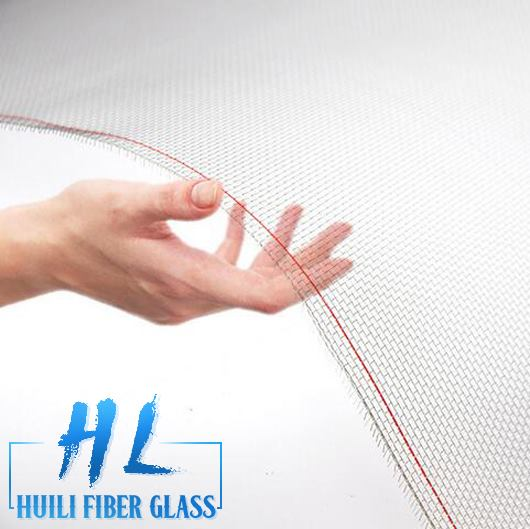 Huili Brand fiberglass insect screen / fiberglass mosquito net screen/ fiberglass window screen