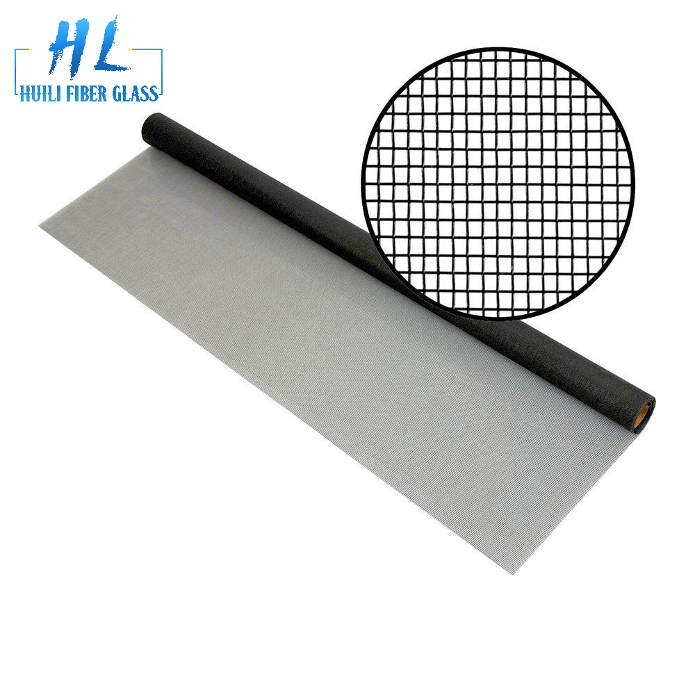 mosquito and insect protection pvc coated fiberglass window screen
