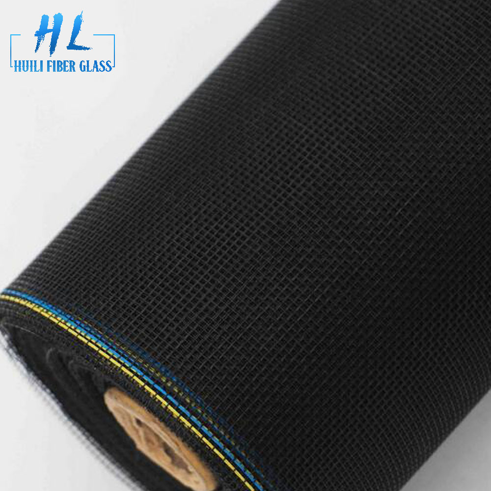 Plain Woven Insect Fly Proof PVC Coated Fiberglass Window Screen For Fire proof anti mosquito fiberglass netting