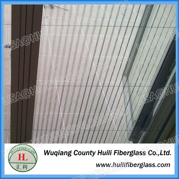 Pleated Plisse Window Screen Insect Screen Factory