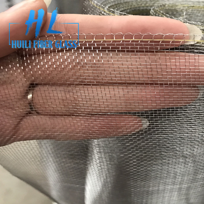 power coated/polished stainless steel wire mesh 304/insect screen 0.19mm