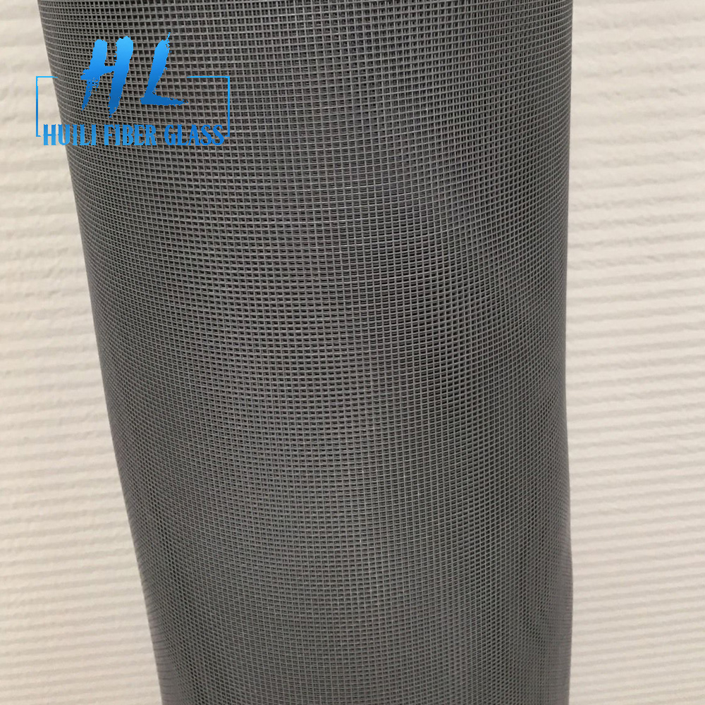 pvc coated fiberglass fly screen net