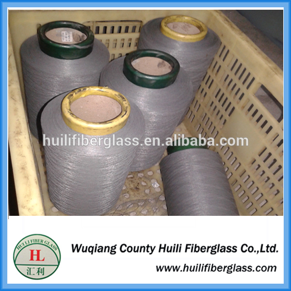 PVC coated glass fiber yarn