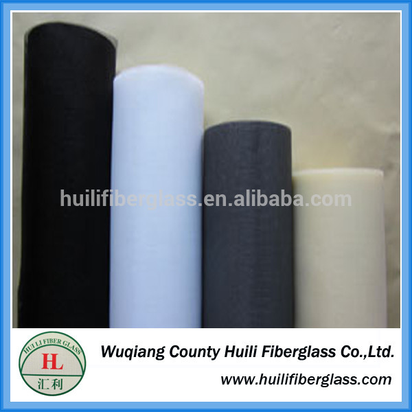 pvc fiberglass mosquito Insect Screen roll up window Fly Screen by Huili factory