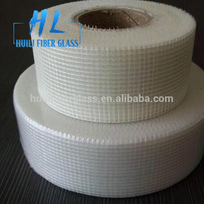 self adhesive fiberglass scrim cloth drywall joint mesh tape 2×65′(50mmx20m) Featured Image