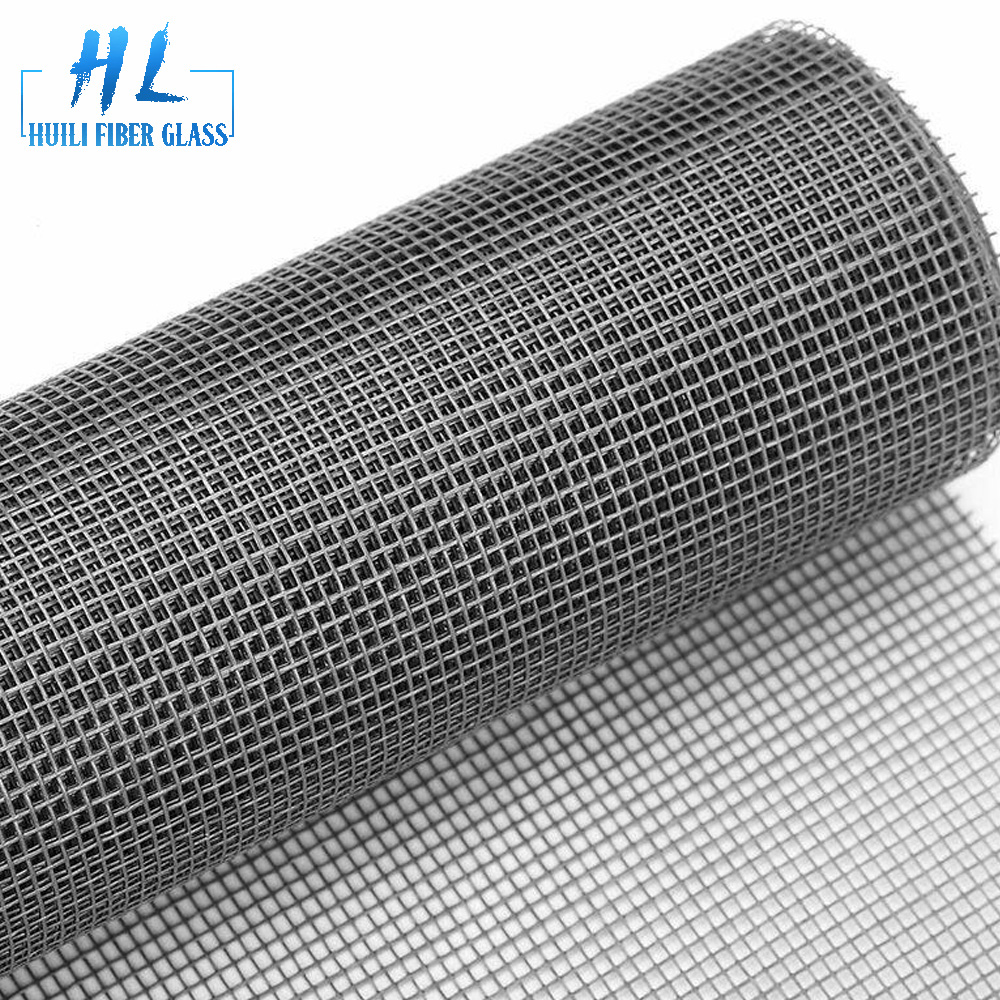 Standard 18×16 mesh PVC coated fiberglass window screen