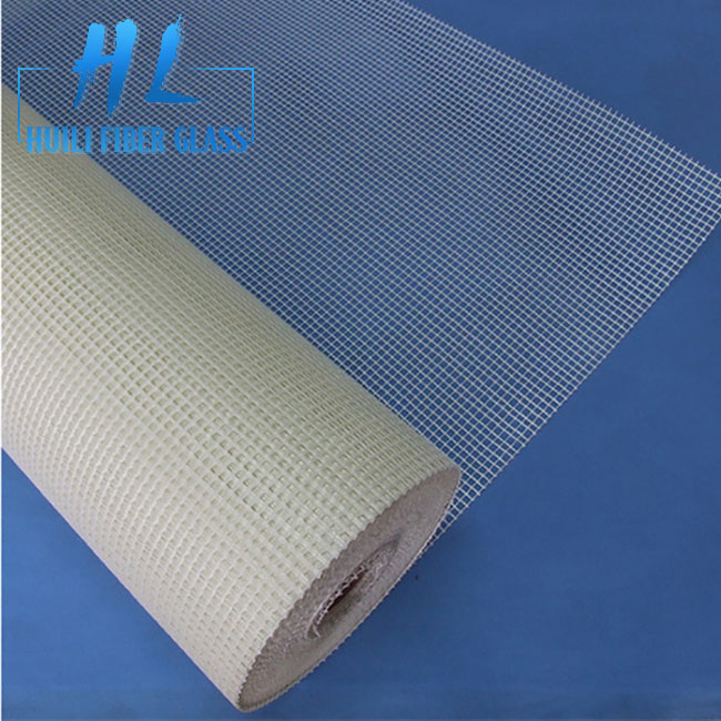 The Urea-formaldehyde Glue Fiberglass Mesh Screen Alkali Resistant self adhesive fiberglass mesh tape