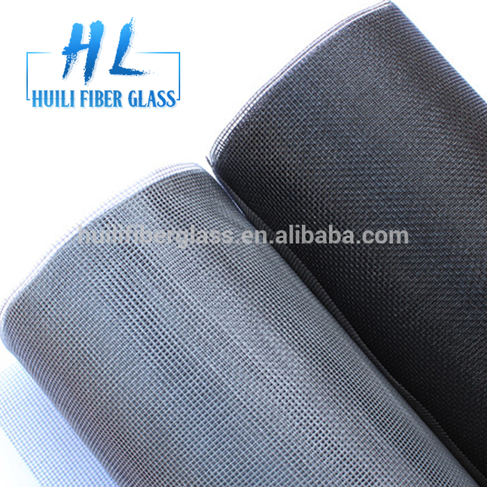 Window Mesh Screen/Fiberglass Mosquito net/Black color insect mesh 30m/roll