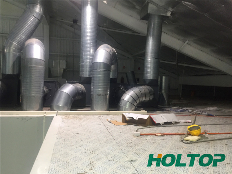 HVAC System Solution for Fiji Printing Plant