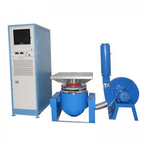 High frequency vibration table