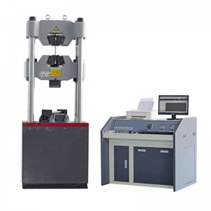 Steel hydraulic tensile testing machine