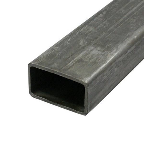Erw Welded Hot Rolled Black Carbon Square Rectangular Hollow Section Steel Pipe Tube