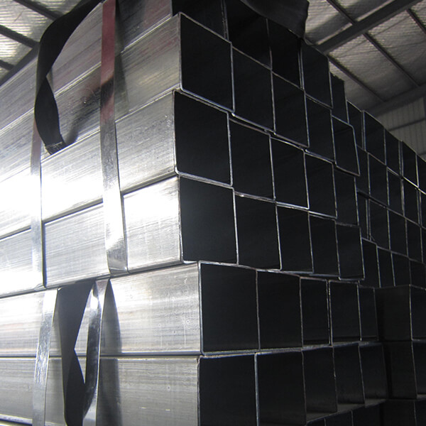 Q195 Mild Carbon Pre Galvanized Sqaure Hollow Section Tube
