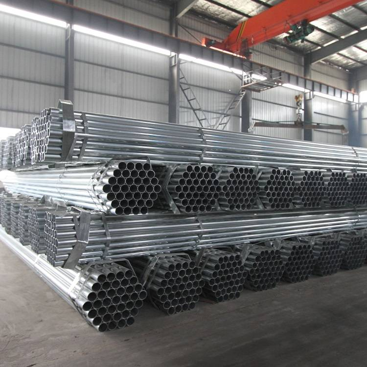EN10219 Pre Galvanized Round Steel Pipes For The Greenhouse