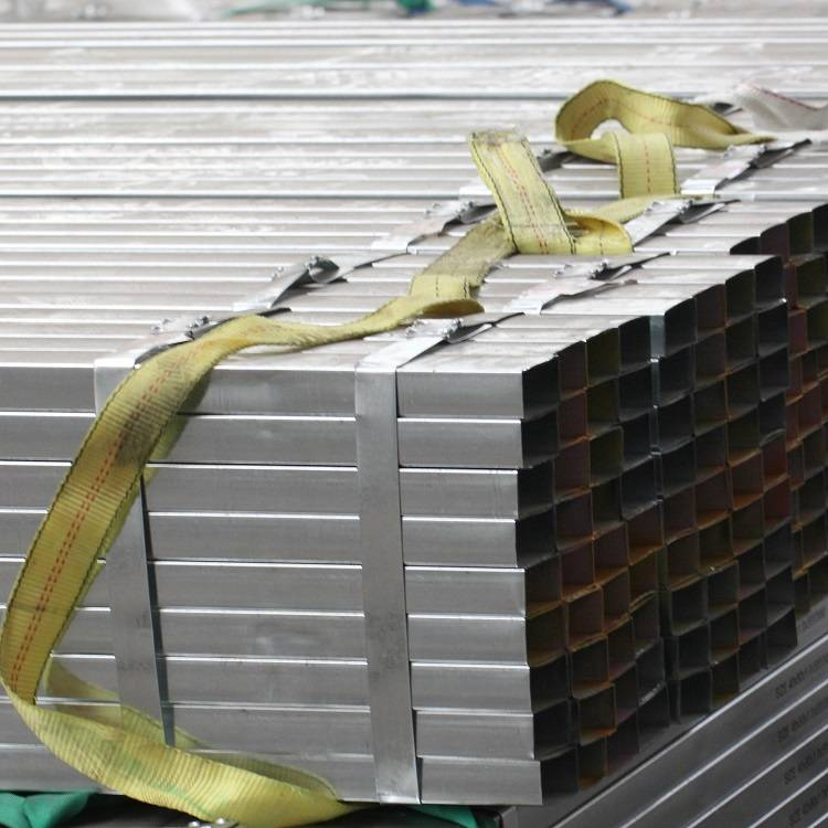 JIS G3466 STK400 STK500 Pre Galvanized Hollow Section