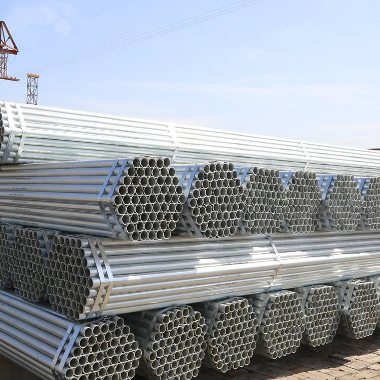 Pre Galvanized Erw Low Carbon Iron Pipes