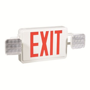 Emergency exit sign combo JLEC2RW