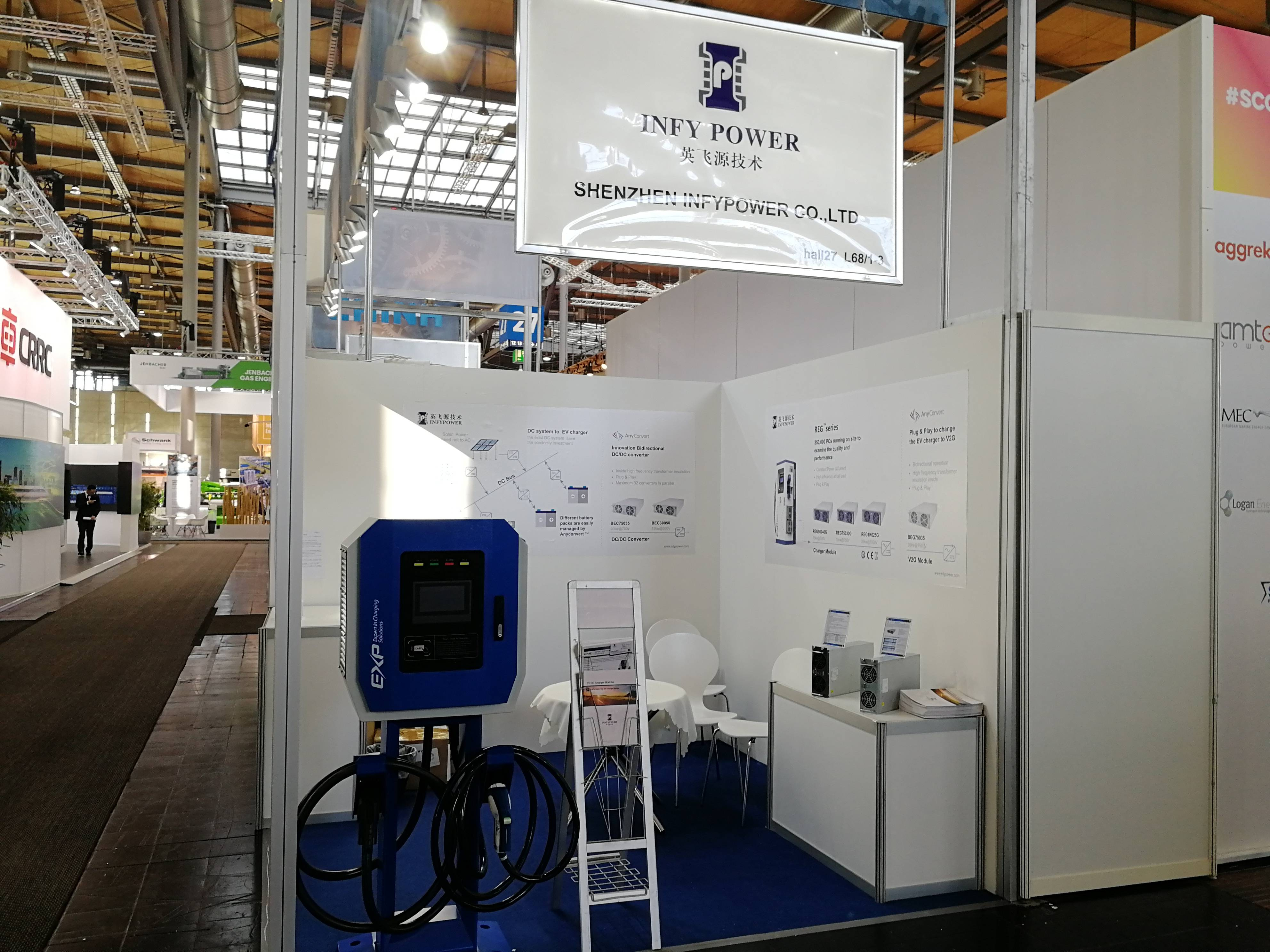 Infypower# HANNOVER MESSE #2019 April
