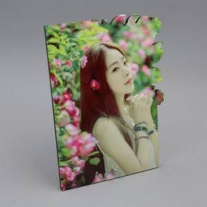 Eco-friendly Customized Printable MDF wooden sublimation Coasters blanks