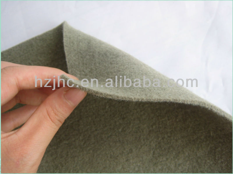 100% polyester materiaal en nonwoven technics nulle Punched carpet