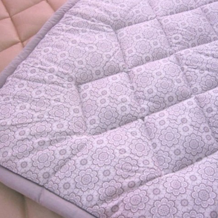 Skin friendly OEM ODM thin Mattress with flowers pattern Featured Image