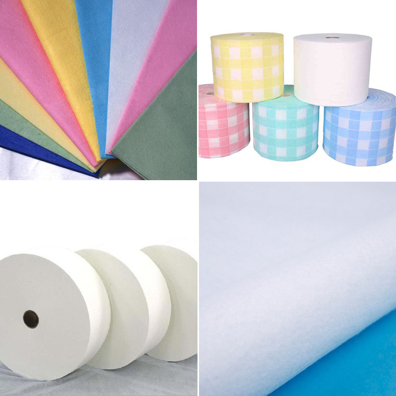 What is a spunlace nonwoven and the choice of fibers