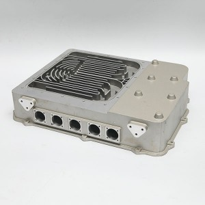 aluminum die casting engine box for new energy auto parts