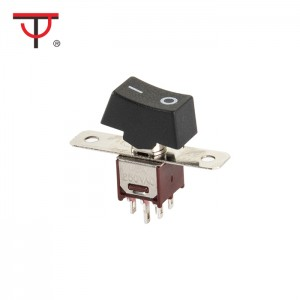 Sub-Miniature Rocker And Lever Handle Switch SRLS-202-A1
