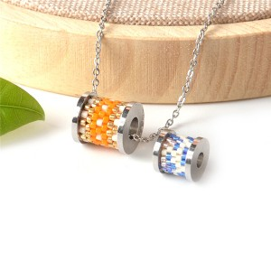 Wholesale hight quality miyuki seed beads metal charms pendants for jewelry making