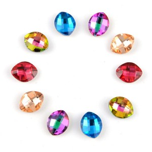 Wholesale k9 teardrop rhinestones crystal stone, high quality all kinds of point back glass fancy stone hot sale products 3 buyers