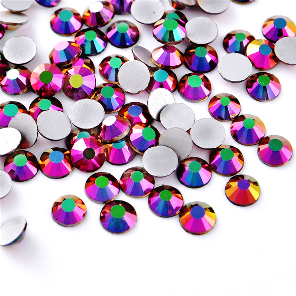 High quality nail flat back crystal glass non hot fix nail art stone Featured Image
