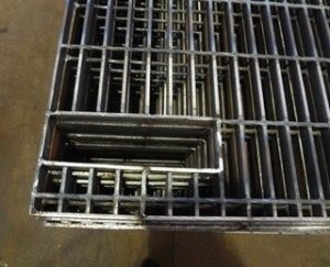 BLACK STEEL GRATING JG325/40/100FU