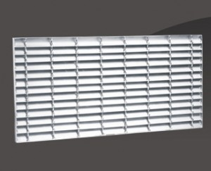 ANTIDINIC STEEL GRATING