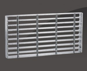 UMFERÐ ROD STEEL grating