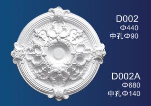 High Quality Plaster Line Company - Centre Panels Series D002 – Jiupin Decoration