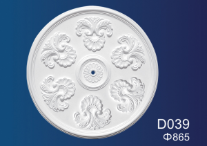 China Cheap price Gypsum Thread Manufacturer - Centre Panels Series D039 – Jiupin Decoration