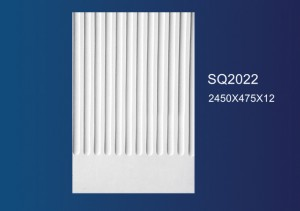 Special Design for Plaster Profiles Cornice - Embossed Plate SQ2022 – Jiupin Decoration