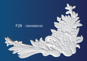 Best Price for Plaster Background Culture Wall - Embossed Plate F28 – Jiupin Decoration