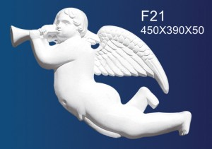 factory Outlets for Plain Gypsum Ceiling - Embossed Plate F21 – Jiupin Decoration